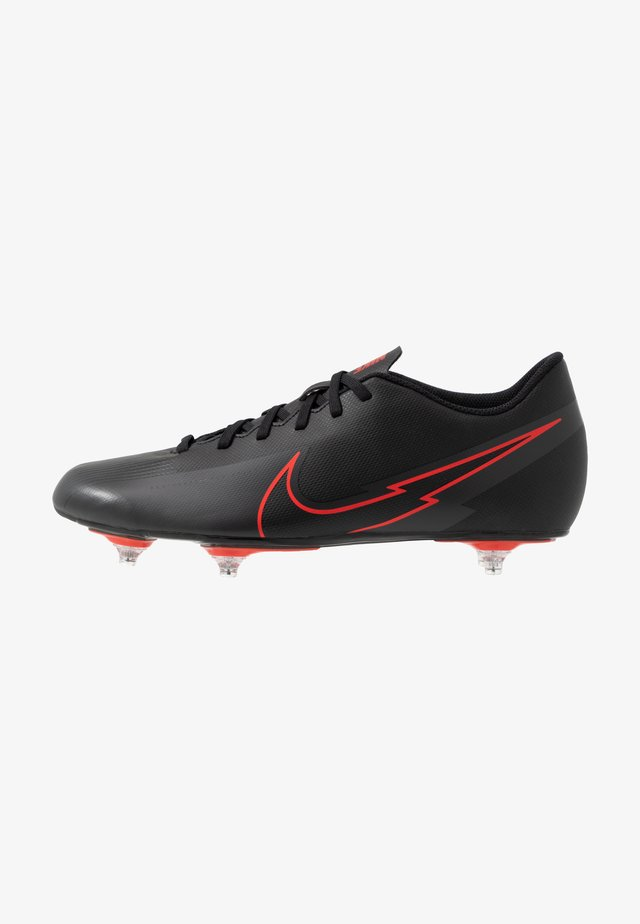 VAPOR 13 CLUB SG - Chaussures de foot à lamelles - black/dark smoke grey