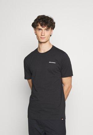 BOX REPEAT - T-shirt print - black