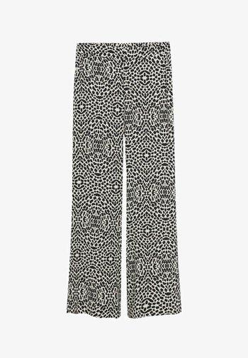 ARUBA - Spodnie materiałowe - black