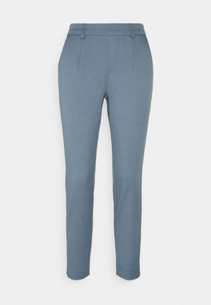 OBJLISA SLIM PANT SEASONAL - Trousers - blue mirage