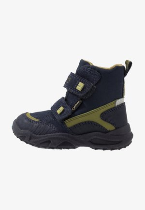 GLACIER - Winter boots - blau/grün