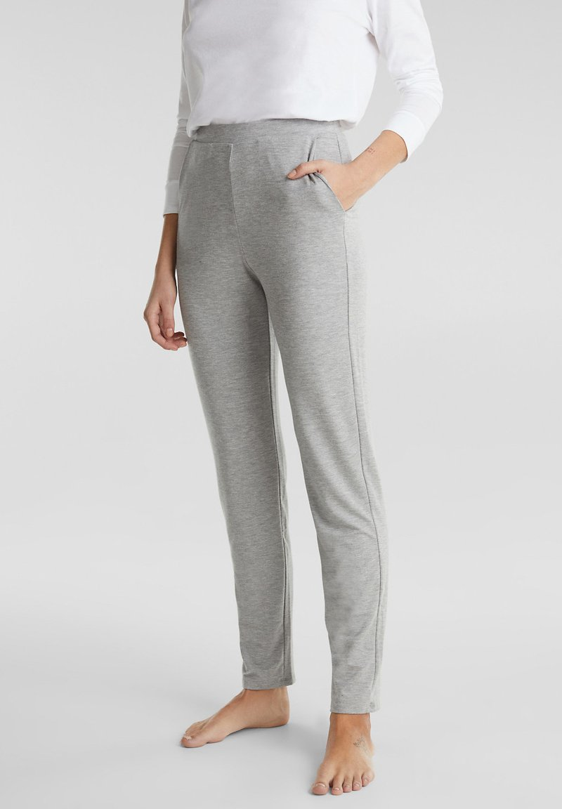 Esprit - Pyjama bottoms - pastel grey