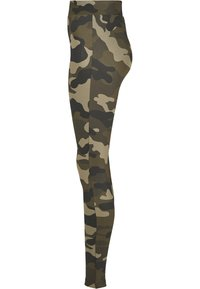 Urban Classics - Leggings - Trousers - wood camo - 5