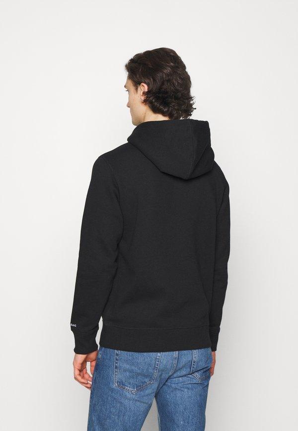 Calvin Klein Jeans ESSENTIAL REGULAR HOODIE - Bluza - black/czarny Odzież Męska IVTV