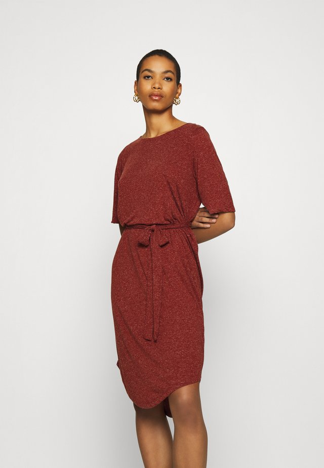 SLFIVY BEACH DRESS - Jersey dress - red