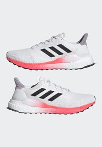 adidas Performance - SOLAR BOOST 19 - Neutral running shoes - crystal white/core black/copper metallic - 7