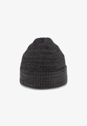Beanie - grey black mouline