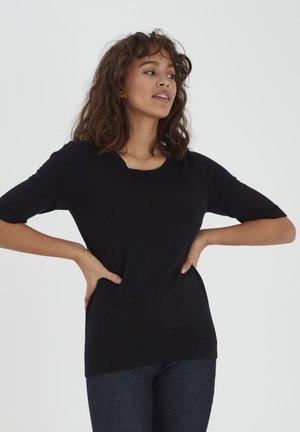 PZSARA - T-shirt med print - black beauty