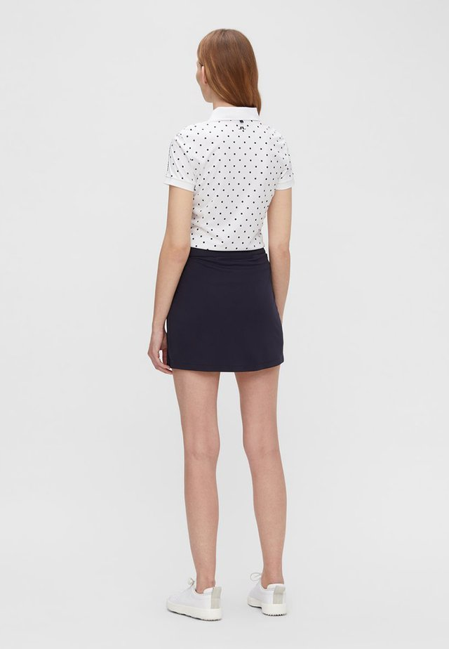 JL141D05E-G11 - Polo shirt - polka dot white navy