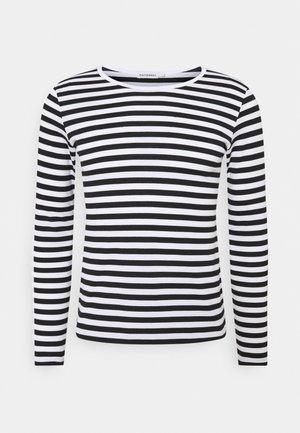 MARI - Maglietta a manica lunga - white/black