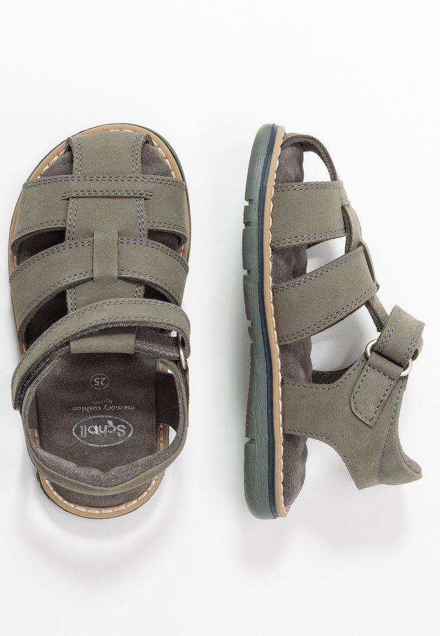 TRICLEO - Sandales - kaki