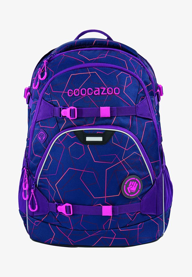 SCALERALE - School bag - laserbeam plum