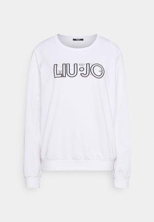 FELPA CHIUSA - Sweatshirt - bianco