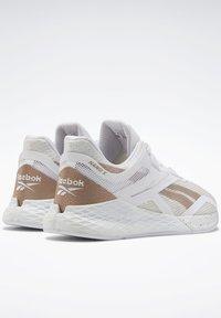 Reebok - REEBOK NANO X SHOES - Sneaker low - white - 3