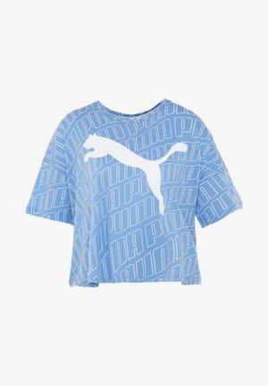 MODERN SPORT FASHION TEE - Print T-shirt - ultramarine