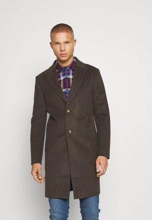 PEAK - Klasyczny płaszcz - dark brown