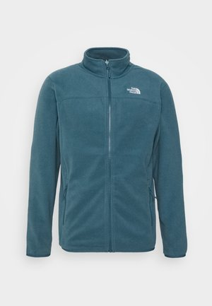 M 100 GLACIER FULL ZIP - EU - Fleece jacket - mallard blue