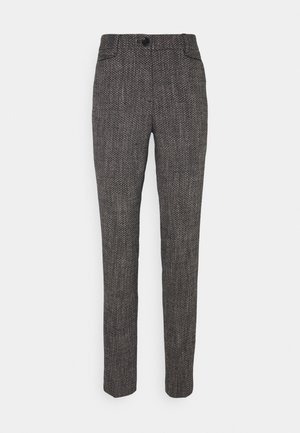 TROUSER - Chino - black multicolor