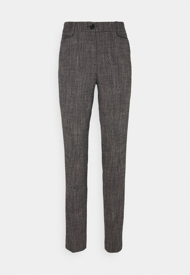TROUSER - Chinos - black multicolor