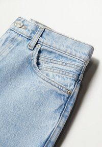 Mango - MOM90 - Jeans Tapered Fit - lichtblauw - 7
