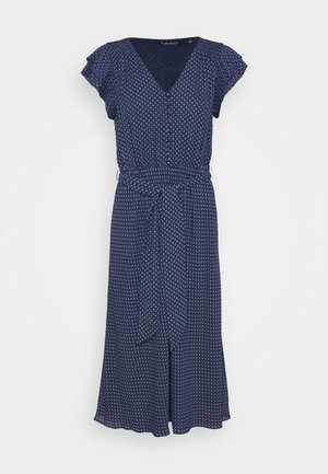 DRAPEY DRESS - Day dress - french navy/pale
