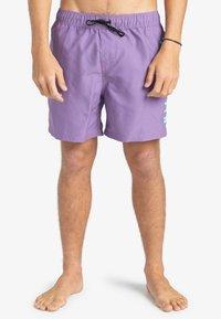 Billabong - ALL DAY - Swimming shorts - lilac - 0