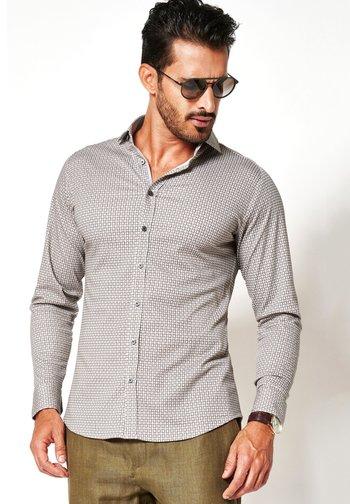 Shirt - mottled beige