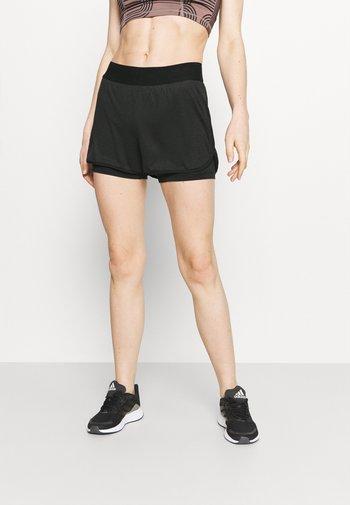 ONPJAMA LOOSE TRAIN SHORTS - Sports shorts - black