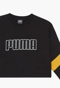 Puma - PUMA X ZALANDO GIRLS CREW - Sweatshirt - black - 3