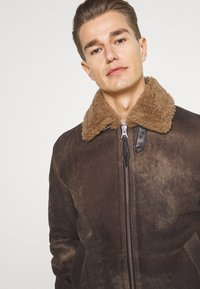 Schott - LCDAKOTA - Leather jacket - brown - 3