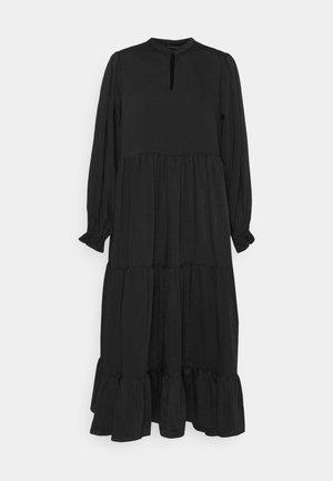 EMILLEH RAVEN DRESS - Maxi dress - black