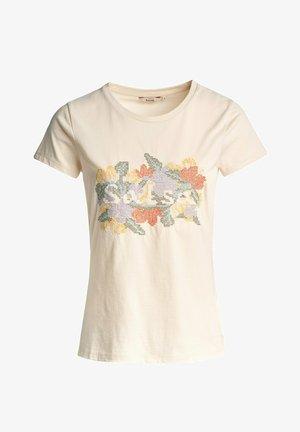 SAMARA REGULAR - Print T-shirt - weiß