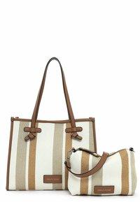 Emily & Noah - Handbag - cognac-stripes - 5