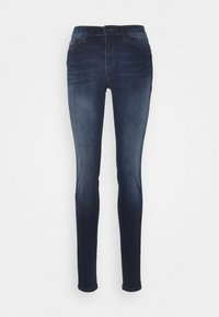 Tommy Jeans - NORA SKNY JDBST - Jeans Skinny Fit - jade dark blue - 3