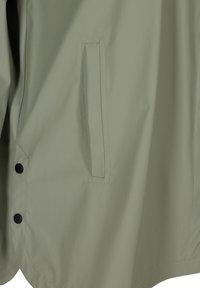Zizzi - Waterproof jacket - green - 4