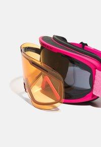 Oakley - FRAME PRO - Occhiali da sci - dark grey/persimmon - 3