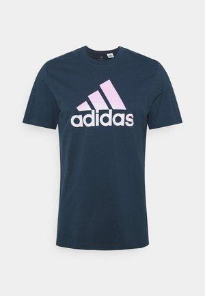 T-shirt med print - crew navy
