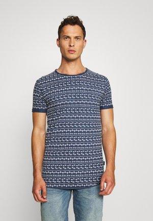 SAIND DENIS - Print T-shirt - dark denim