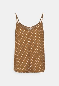 ONLY - ONLPELLA SINGLET - Topper - toasted coconut - 4