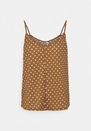 ONLPELLA SINGLET - Top - toasted coconut