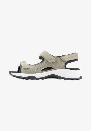 Walking sandals - corda corda schwarz