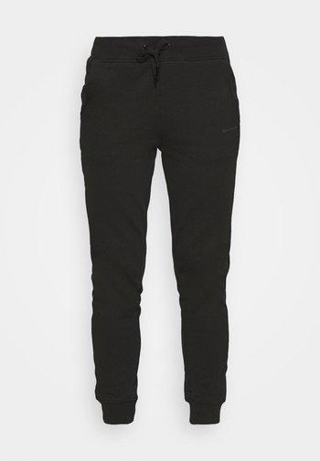 LOGO PANTS - Tracksuit bottoms - black