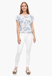 s.Oliver - Jeans Skinny Fit - white - 1