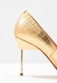 Kurt Geiger London - BRITTON - High heels - gold - 2