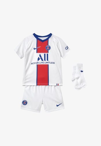 PARIS ST GERMAIN SET - Sports shorts - white/old royal