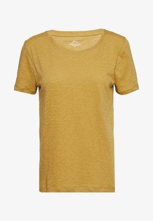 VINTAGE CREWNECK TEE - Camiseta básica - bronzed olive