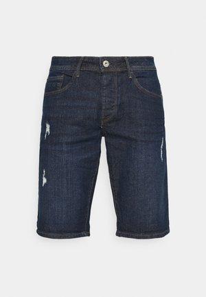 MOLOKO - Short en jean - dark blue denim