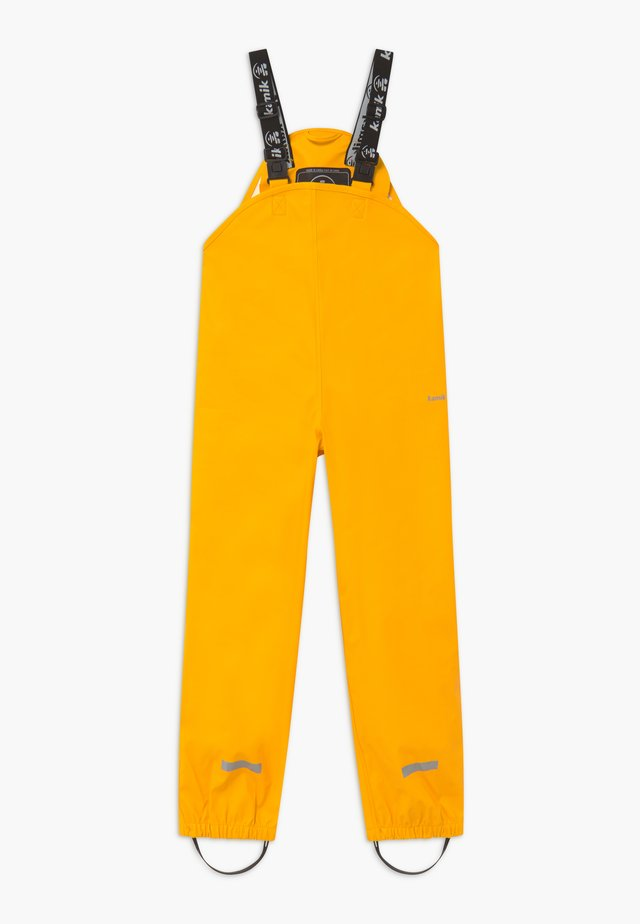 MUDDY - Rain trousers - yellow