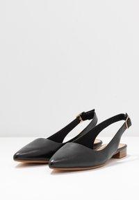 Clarks - LAINA - Slingback ballet pumps - black - 4