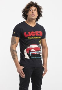 Liger - LIMITED TO 360 PIECES - WILLIAM DALEBOUT - TOURING - Print T-shirt - navy - 3